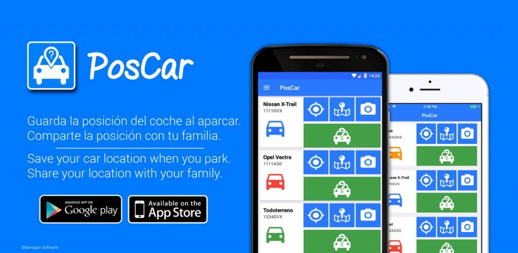 PosCar - Donde está mi coche - Where is my car?