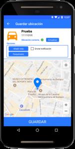 Guardar ubicación del coche en PosCar