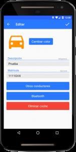 Editar coche virtual en PosCar